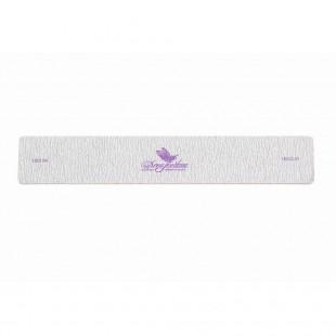 Dona Jerdona Пилка для натуральных ногтей 180/220 прямоугольная широкая серая