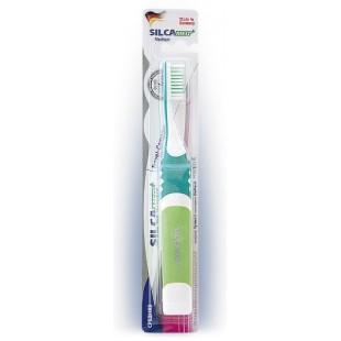 зубная щетка SILCAMED Travel-Compact Medium