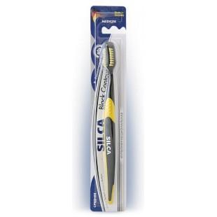 зубная щетка SILCA Black Contour Medium