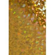 Dona Jerdona фольга 1.5 м голография золотая колейдоскоп мелкий