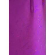 Dona Jerdona фольга 1.5 м голография розовая колейдоскоп мелкий