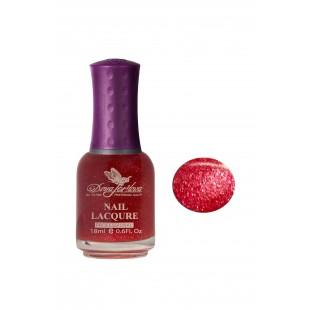 Dona Jerdona Лак для ногтей сахарный с блестками № 131 Красный