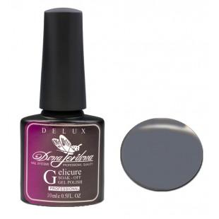 Dona Jerdona Гель-лак Delux Gelicure №125 iron grey 100790