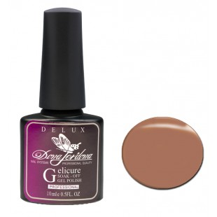 Dona Jerdona Гель-лак Delux Gelicure №128 caramel 100793