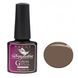 Dona Jerdona Гель-лак Delux Gelicure №130 dark olive 100795