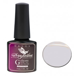 Dona Jerdona Гель-лак Delux Gelicure №141 light grey 100806