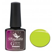 Dona Jerdona Гель-лак Delux Gelicure №156 electric lemon 100821