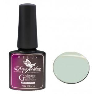 Dona Jerdona Гель-лак Delux Gelicure №158 pastel green 100823
