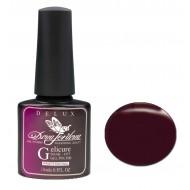 Dona Jerdona Гель-лак Delux Gelicure №159 dark cherry 100824
