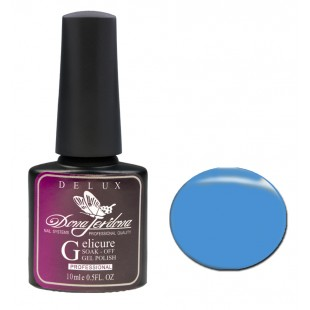 Dona Jerdona Гель-лак Delux Gelicure №161 fashion blue 100826