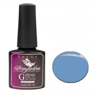 Dona Jerdona Гель-лак Delux Gelicure №162 pale blue 100827