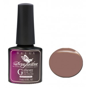 Dona Jerdona Гель-лак Delux Gelicure №170 milk chocolate 100835
