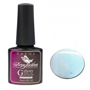 Dona Jerdona Гель-лак Delux Gelicure №185 glimmering blue 100850