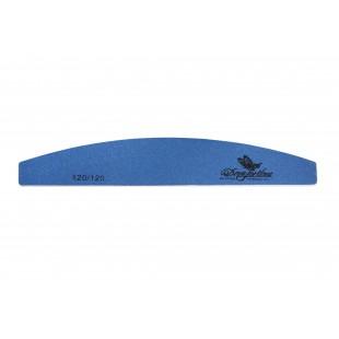 Dona Jerdona Пилка для искусственных ногтей 120/120 полукгруглая синяя 100411