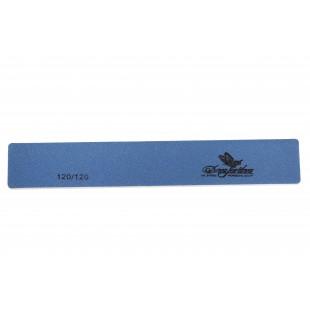 Dona Jerdona пилка для искусственных ногтей 120/120 прямоугольная широкая синяя 100408