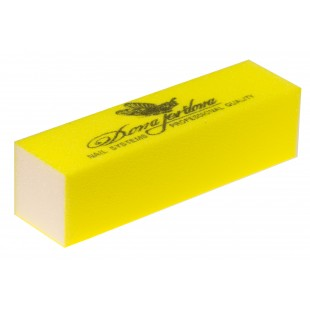 Dona Jerdona Баф шлифовочный для искусственных ногтей желтый 100/100 101187