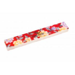 Dona Jerdona Шлифовка прямая широкая красные цветы Д2726-4