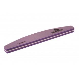 Dona Jerdona Шлифовка для ногтей полукруглая фиолетовая 180/240 100387