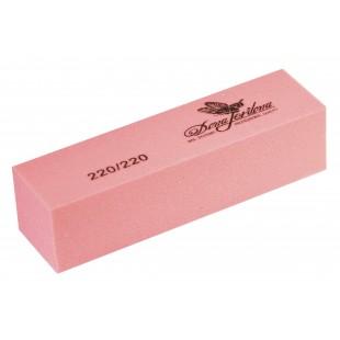 Dona Jerdonа Баф шлифовочный розовый 220/220 100378