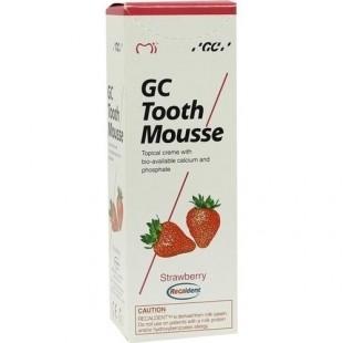 GC Tooth Mousse Strawberry Тус Сусс со вкусом клубники реминерализирующий гель Япония (35 мл)