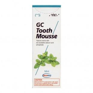 GC Tooth Mousse Mint Тус Сусс со вкусом мяты реминерализирующий гель Япония (35 мл)